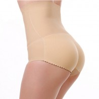 Butt Secret with High waist- Push Up for the Buttocks - Beige