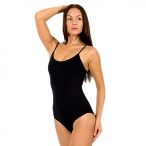 Corrective Body with hook and eye closure   Corrective underwear for woman   Shapewear   Black