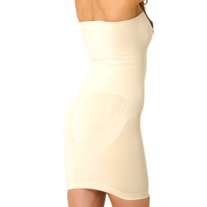 Corrective Strapless Underdress | Correction underwear Women | Shapewear | Beige