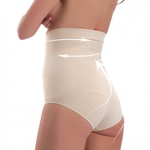 Corrective Briefs High Waist | Corrective underwear for Women | Beige | Shapewear